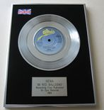 NENA - 99 RED BALLOONS Platinum single presentation Disc
